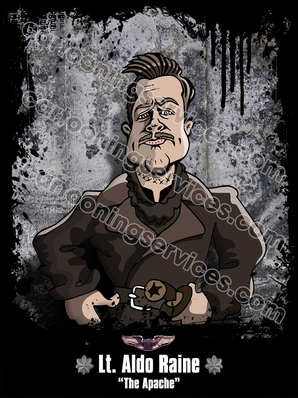 aldo-raine-inglorious-basterds