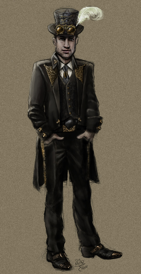 steampunk-cafe-waiter-uniform-concept-art