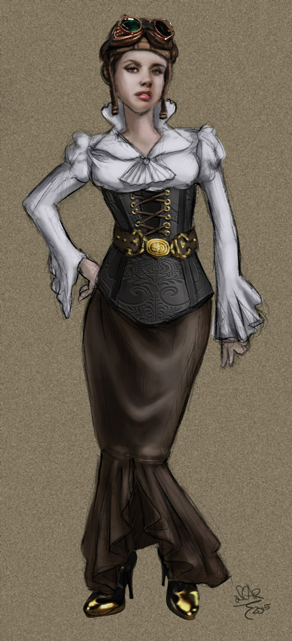 steampunk-cafe-waitress-uniform-concept-art