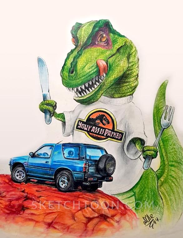 tyrannosaurus-illustration